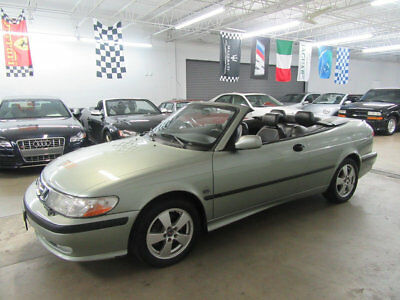 2002 Saab 9-3 2dr Convertible SE $4300 includes FREE SHIPPING IMMACULATE! garagekept FLORIDA NONSMOKER wow wow!