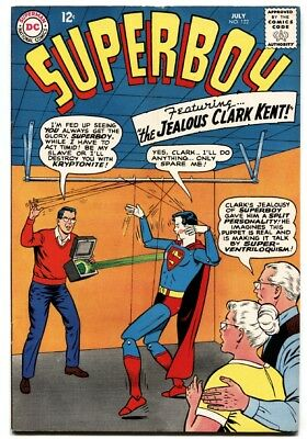 SUPERBOY #122 dc comics 1965-the jealous clark kent silver age comic fn