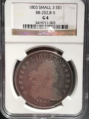 1803 Draped Bust Dollar NGC G4 3419711-003