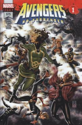 Avengers #675 Lenticular 3D Wraparound Cover Save 36% Off Cover Voyager Appears