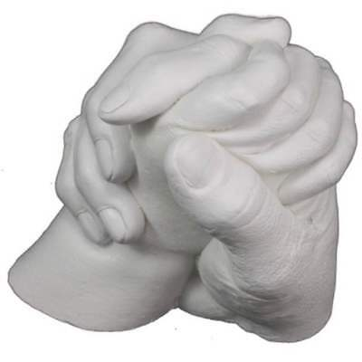 3D Casting Kit - Holding Hands Print Casts Sculpture Keep Sake Gift Materials