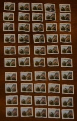 50 Canada Post P-Stamps Uncancelled Off Paper No Gum. Face Value $42.50 (Beaver)