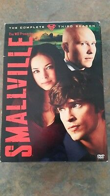 Smallville - Season 3 (DVD, 2004, 6-Disc Set) 22 Episodes