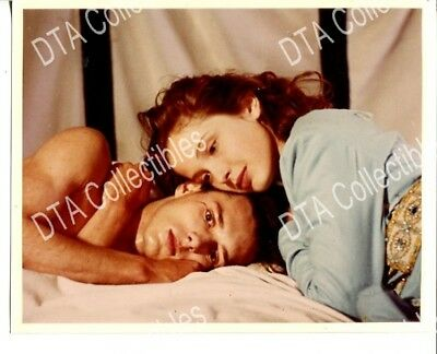 YOUNG COUPLE IN BED-1990'S-8 X 10-STILL-vg FR/G