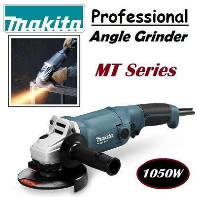 Makita Professional Angle Grinder Soft Grip 1050W 125mm 11,000rpm Speed