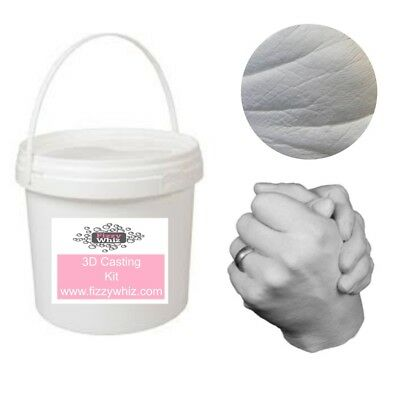 3D Adult Casting Kit - Hand Cast Gift For Weddings Anniversaries Valentines