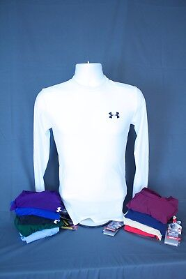 NWT Under Armour Men's MEDIUM HeatGear Compression Long Sleeve T-Shirt 1201163