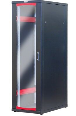 Cabinet Server Rack 19 600x1000 42 Units Black series solution I-CASE SVR-I426BK