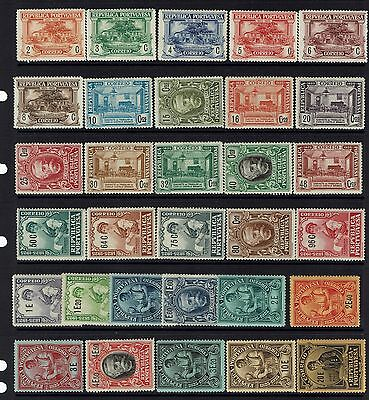 Portugal SC# 346 - 376 - Mint Never Hinged (See Notes) - 090415
