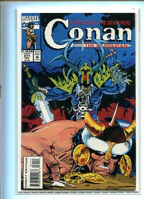 Conan #271 Nm 9.4 Dramatic Cover Scarce Later Issue