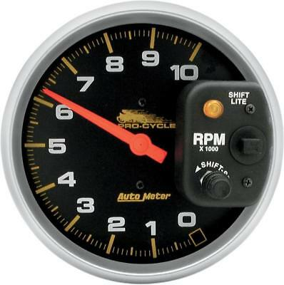 """Auto Meter Pro-Cycle High RPM Tachometers 5"""" w/ Shift Light"""