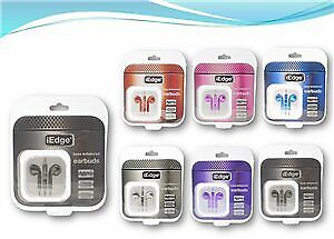 Iphone Style Metallic Earbuds W/ Mic and Volume Control Case Pack 48 (2276006)