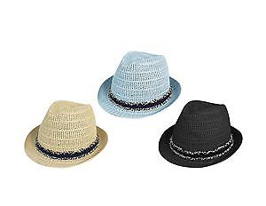 Women's Fedora with Frayed Band Case Pack 48 (2280395)