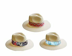Women's Panama Hats with Printed Band Case Pack 48 (2280443)