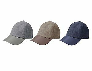 Women's Wool-Like Cap with Faux Leather Brim Case Pack 48 (2280488)