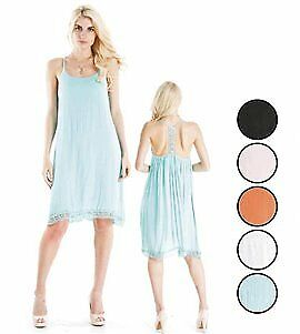 Women's Rayon Short Dresses with Accent T-Back Case Pack 72 (2280695)