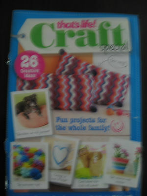 THAT'S LIFE! CRAFT SPECIAL NEW BOOKLET 32pp 26 CREATIVE IDEAS FOR THE FAMILY