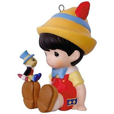 2017 Hallmark Ornament Pinocchio Jiminy Cricket Limited Edition Precious Moments