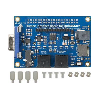 Human Interface Board for QuickStart