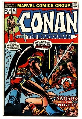 Conan The Barbarian #23 1973 Marvel Comics-First Red Sonja