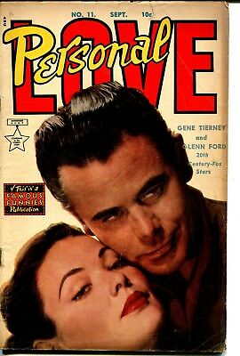 Personal Love  #11 1951-Famous Funnies-Glenn Ford-Gene Tierney-Alex Toth-VG