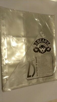 Raccoglitore 25 buste in plastica a 9 tasche Card-holder pages 3 BEARS