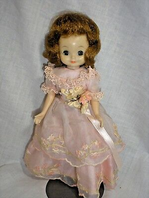 """Vintage 8"""" Betsy McCall Doll, American Character In Penny Brite """"Flower Girl"""""""