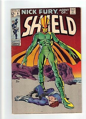 Nick Fury Agent of SHIELD (1st Series) #8 1969