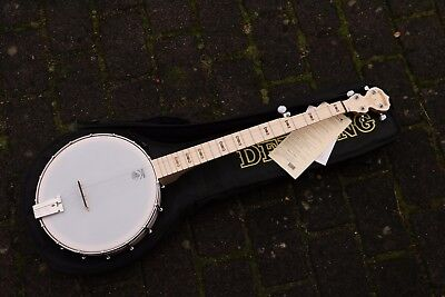 NEU Goodtime Deering Open Back  5S Banjo mit Gigbag Made in USA