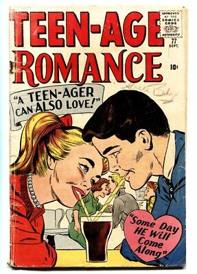 Teen-Age Romances #77 1960-Marvel-teen-age TOO TALL FOR LOVE