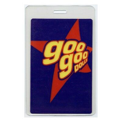 Goo Goo Dolls authentic concert tour Laminated Backstage Pass