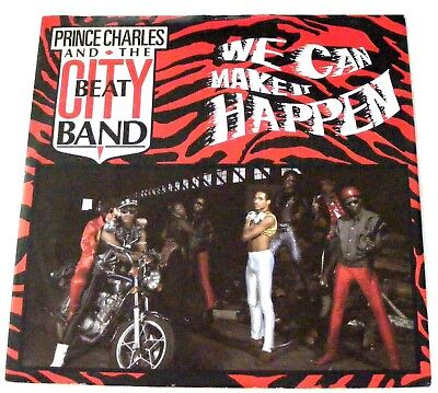 "PRINCE CHARLES CITY BEAT BAND UK 1983 12"" Single WE CAN MAKE IT HAPPEN"