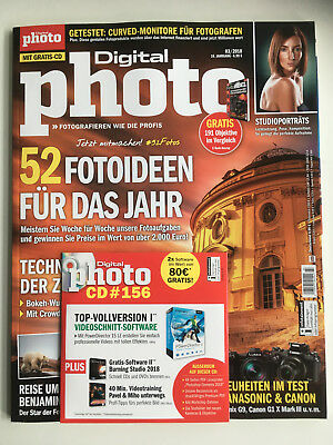 Digitalphoto Digital Photo  Ausgabe 03/2018  inkl. CD  ungelesen