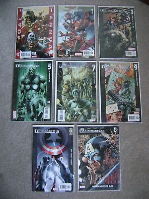 The Ultimates 2 #1 - #13 + Annual Complete Set Marvel Comics 2005 Sets Full Run