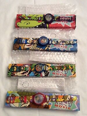 Rugrat Movie Burger King Watches Set of 4 - New in Box Never worn