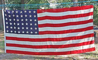 "U.S. American Ca. World War II Memorial Flag (48 Stars) Wool (114"" x 57"")"