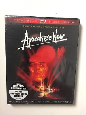Apocalypse Now (Blu-ray Disc, 2010, 2-Disc Set, Special Edition) NEW w/slipcover