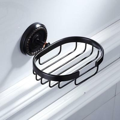 Shower Soap Dish Holder Basket Tray Organizer Bathroom Decoration Netty #1