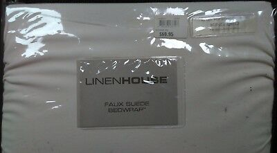 Linen House Stretch Over Valance   Bed Wrap - King Bed