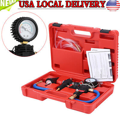 Auto Cooling System Vacuum Purge Refill Kit for Car Truck Radiator Engine Tool