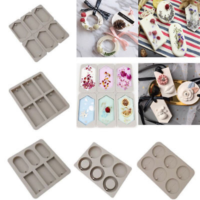3D Silicone Candle Insert Mold DIY Fondant Chocolate Cake Cupcake Soap Mould