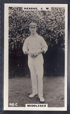 PHILLIPS-CRICKET ERS BROWN BACK F192-#048c- HEARNE - MIDDLESEX