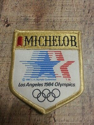 1984 Olympic Michelob Beer Patch