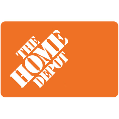 Home Depot Gift Card $25 Value, Only $24.60! Free Shipping!
