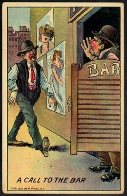Anti Temperance PPC - A Call to The Bar - The Alcohol Bar!