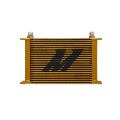 Mishimoto Universal 25 Row Oil Cooler - Gold