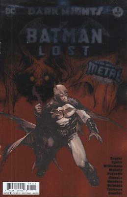 BATMAN LOST #1 FOIL COVER DARK NIGHTS METAL WHO LAUGHS 1st APPEARANCE BARBATOS