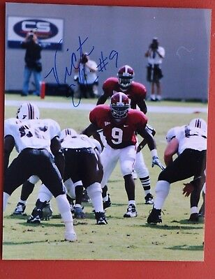 Late Great Victor Ellis  Signed Alabama Football 8X10 Photo - Make An Offer!!