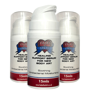 Fade the Itch Tattoo Aftercare,Aftercare Serum,Tattoo repair,Tattoo healing
