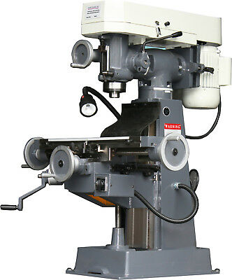 Bench Turret Mill, 1-1/2 HP Motor - Price Lowered